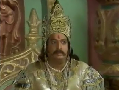 Vilas Raj Kans and Lavnasur in Uttar Ramayan
